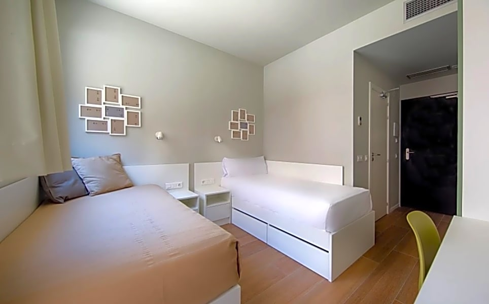 XL Twin Room for Individual use with private terrace