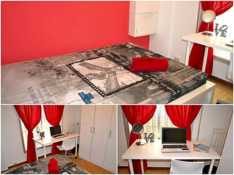 Room IV in Guzman 8 Apartment